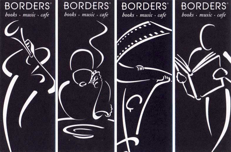 Borders bookmarks
